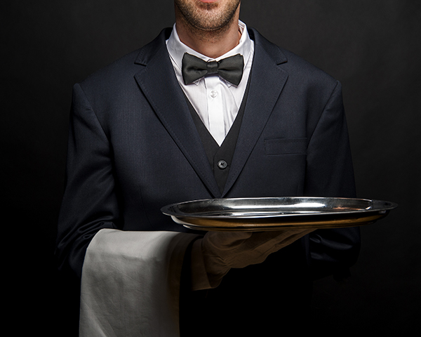 Server with platter