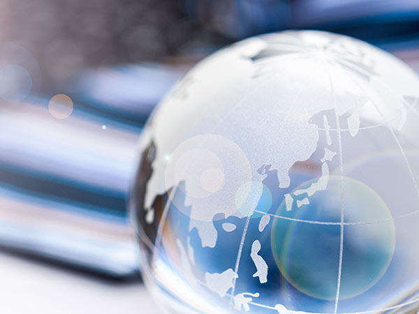 Stock photo of globe