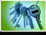 Keys on a keyring